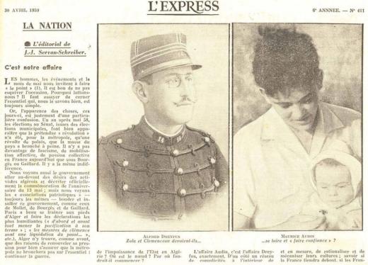 portrait-d-alfred-dreyfus-et-maurice-audin-dans-l-express-du-30-avril-1959_6106076