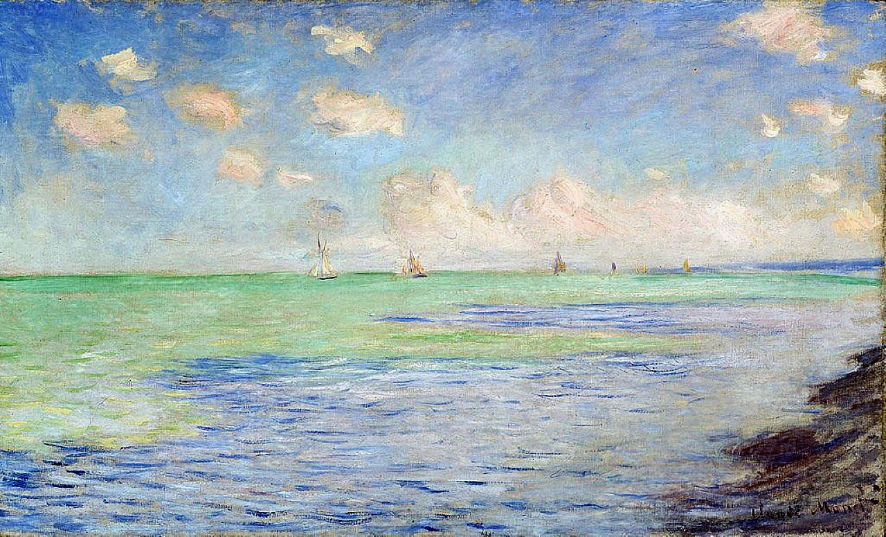1882 The Sea at Pourville
